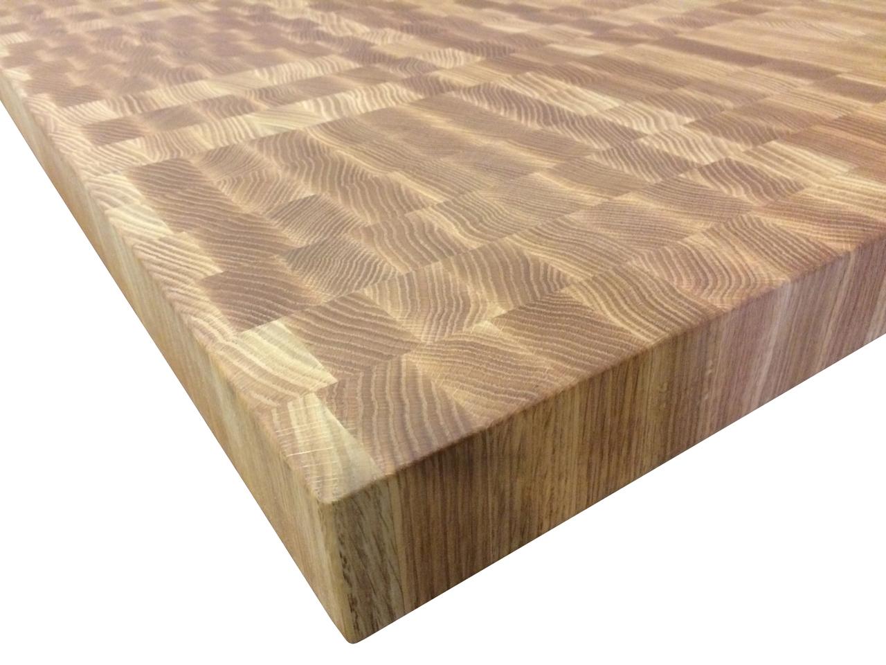 Armani Fine Woodworking End Grain Red Oak Butcher Block Countertop
