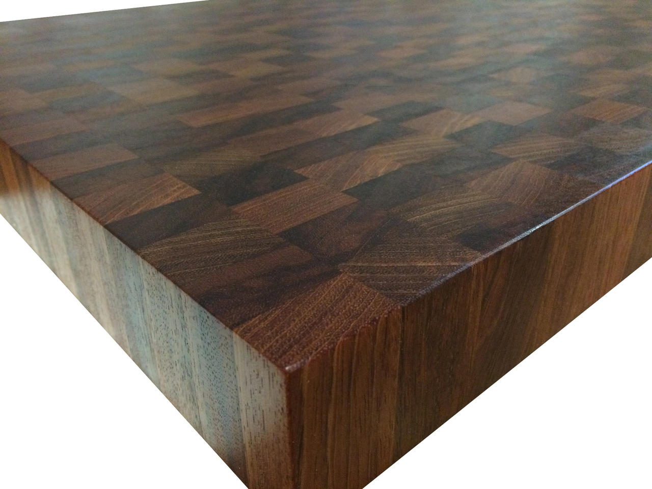 Armani Fine Woodworking End Grain Jatoba Butcher Block Countertop