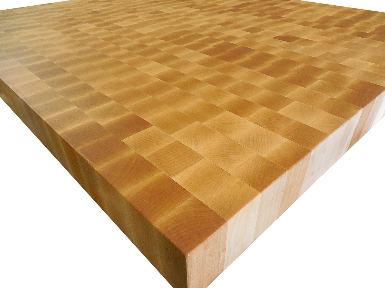 Armani Fine Woodworking End Grain Hard Rock Maple Countertop