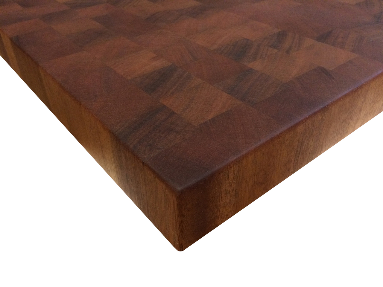 Armani Fine Woodworking End Grain Mahogany Butcher Block Countertop